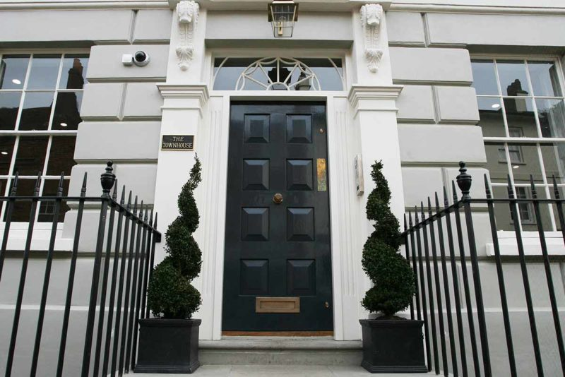 The Townhouse, our UK HQ.